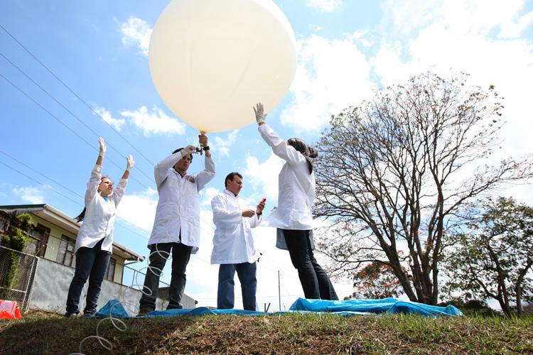 Globos atmosféricos monitorean cambio climático