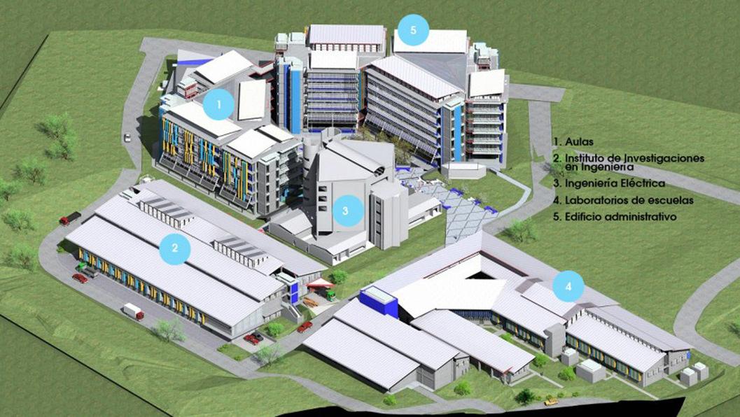 Ucr Invierte En Varios Edificios Para Facultad De Ingenier A