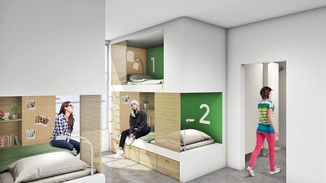 f7fe43fc1659 Arquitectura carcelaria con enfoque de género, la propuesta de dos ...